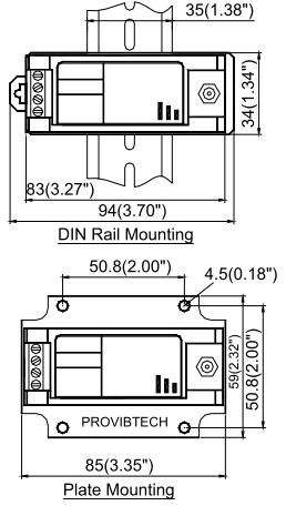 Контроллер TR4102 для измерения осевой вибрации