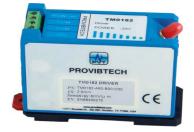Система датчика виброперемещения 11 мм с контроллером ТМ0110