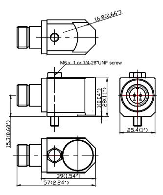 Датчик ускорения с боковым выходом ТМ0786А