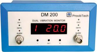 DM200 Двухканальный вибромонитор